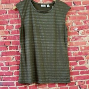 CATO Green Embellished Women's top size Medium